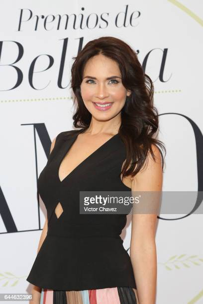 Adriana Louvier attends the Glamour Mexico magazine Beauty Awards 2016 at Jardin Versal on February 23 2017 in Mexico City Mexico