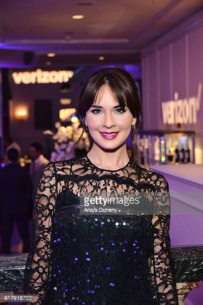 Adriana Louvier attends the The Paley Center for Media's Hollywood Tribute to Hispanic Achievements in Television at the Beverly Wilshire Four...