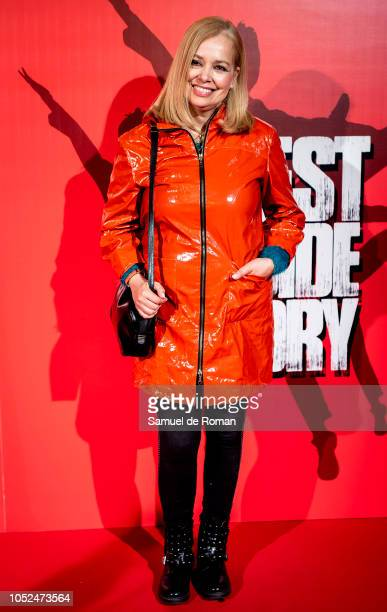 Adriana Ozores attends during West Side Story Premiere in Madrid on October 18 2018 in Madrid Spain