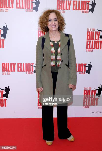 Adriana Ozores attends the 'Billy ElliotEl Musical' premiere at Nuevo Alcala Theater on October 18 2017 in Madrid Spain