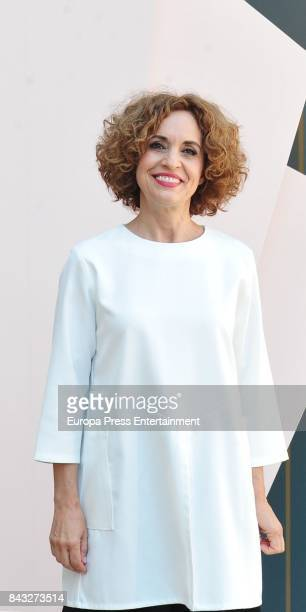 Adriana Ozores attends 'Velvet Colecction' photocall during the FesTVal 2017 on September 5 2017 in VitoriaGasteiz Spain