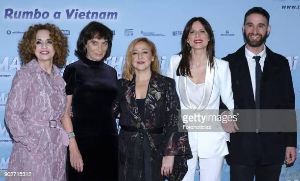 Adriana Ozores director Patricia Ferreira Carmen Machi Aitana Sanchez Gijon and Dani Rovira attend the 'Thi Mai Rumbo a Viet Nam' premiere at Callao...