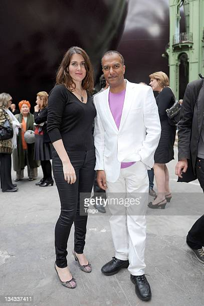 Adriana Santini and Pascal Legitimus attend the 'Fete Du Cinema' Launch party at Grand Palais on June 22, 2011 in Paris, France.