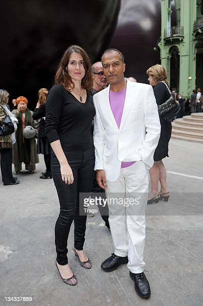 Adriana Santini and Pascal Legitimus attend the 'Fete Du Cinema' Launch party at Grand Palais on June 22 2011 in Paris France