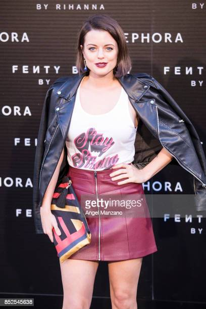 Adriana Torrebajano attends Rihanna Fenty Beauty Presentation in Madrid on September 23 2017 in Madrid Spain