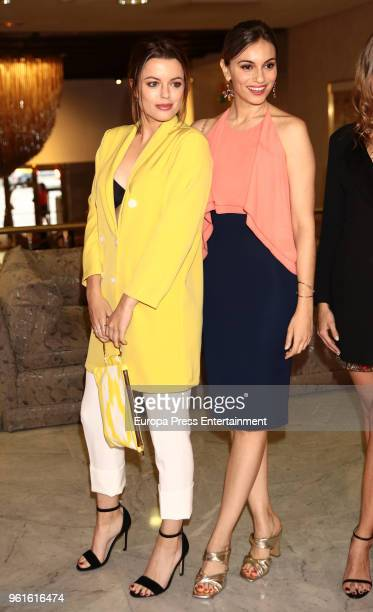 Adriana Torrebejano and Norma Ruiz attend 'El Jardin Del Miguel Angel And Instyle Beauty Night' party at Miguel Angel Hotel on May 22 2018 in Madrid...