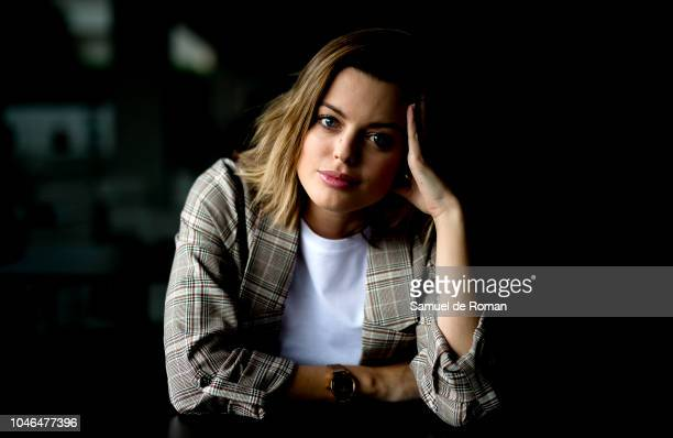 Adriana Torrebejano attends during a portrait session at Sitges Film Festival on October on October 6 2018 in Sitges Spain