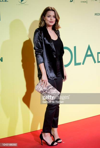 Adriana Torrebejano attends during Ola De Crimenes' Madrid Premiere on October 3 2018 in Madrid Spain