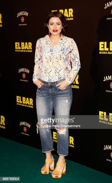 Adriana Torrebejano attends 'El Bar' premiere at Callao cinema on March 22 2017 in Madrid Spain