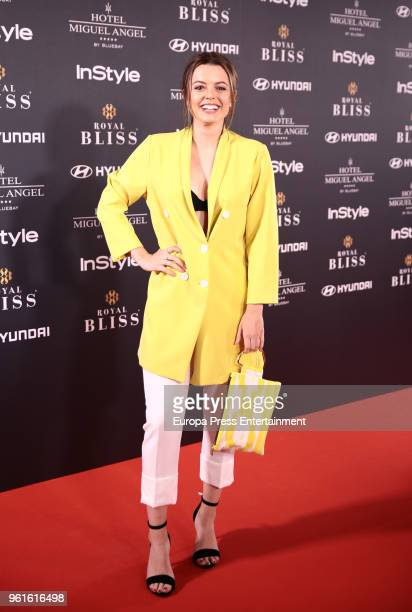 Adriana Torrebejano attends 'El Jardin Del Miguel Angel And Instyle Beauty Night' party at Miguel Angel Hotel on May 22 2018 in Madrid Spain
