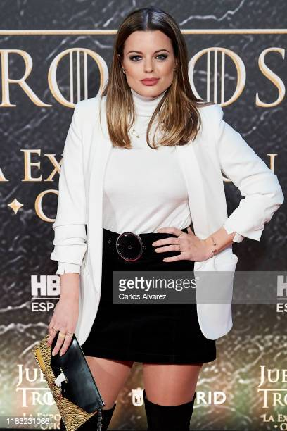 Adriana Torrebejano attends 'Game Of Thrones' official exhibition presentation at IFEMA on October 24, 2019 in Madrid, Spain.