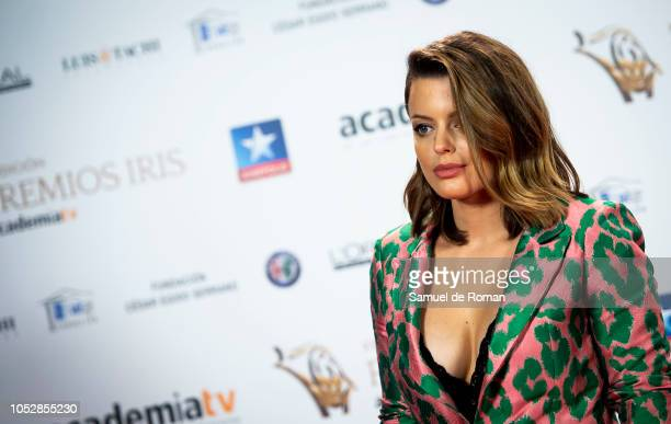 Adriana Torrebejano attends Iris Awards Photocall on October 23 2018 in Madrid Spain