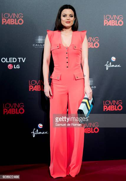 Adriana Torrebejano attends 'Loving Pablo' Madrid Premiere on March 7 2018 in Madrid Spain
