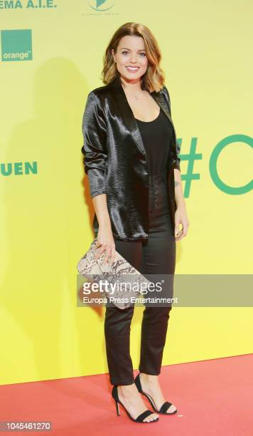 Adriana Torrebejano attends 'Ola de Crimenes' premiere on October 3 2018 in Madrid Spain