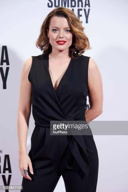 Adriana Torrebejano attends the 'La sombra de la ley' premiere at 'Capitol Cinema' in Madrid on October 10 2018