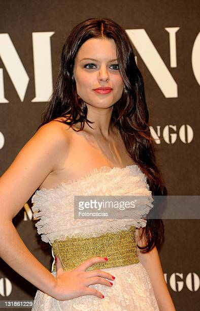 Adriana Torrebejano attends the launch of Mango new spring/summer 2011 collection at the Palacio de Cibeles on November 16 2010 in Madrid Spain
