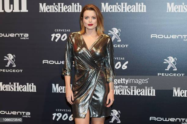 Adriana Torrebejano attends the Men's Health 2018 awards photocall at Goya Theater in Madrid Spain on Nov 27 2018