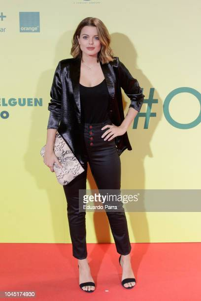Adriana Torrebejano attends the 'Ola de crimenes' premiere at Capitol cinema on October 3 2018 in Madrid Spain