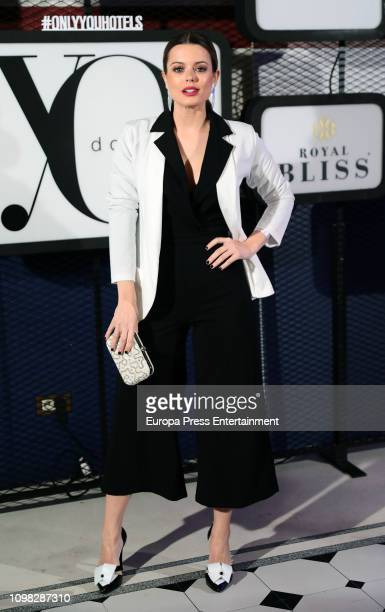 Adriana Torrebejano attends 'Yo Dona' Mercedes Benz Fashion Week Madrid Autumn/Winter 201920 party at the Only You Hotel on January 22 2019 in Madrid...