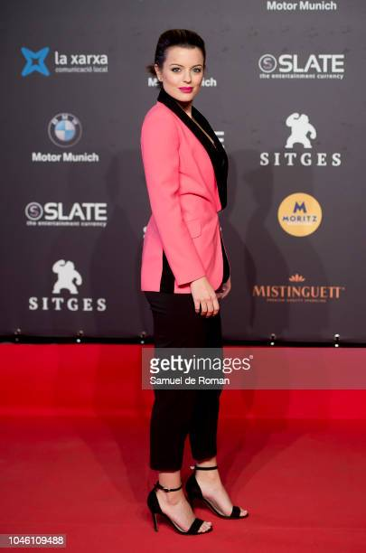 Adriana Torrebejano during `La sombra la Ley´ premiere at Sitges Film Festival on October 5 2018 in Sitges Spain