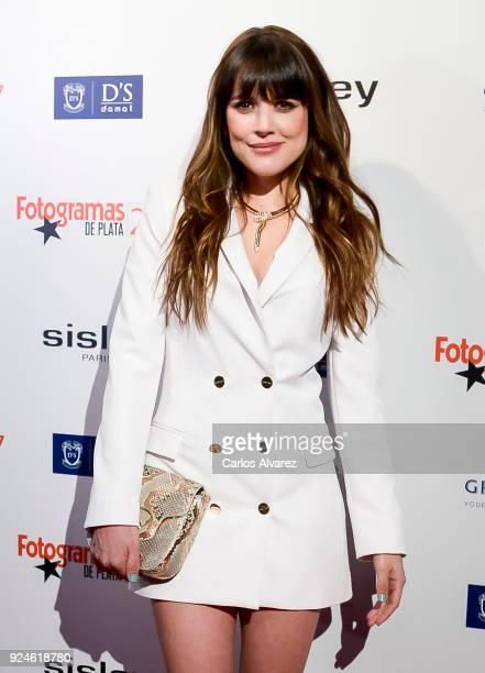 Adriana Ugarte attends 'Fotogramas Awards' at Joy Eslava on February 26 2018 in Madrid Spain
