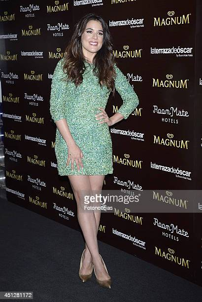 Adriana Ugarte attends the 'Chocolate Opening Party By Magnum' at the Room Mate Oscar Hotel on June 26 2014 in Madrid Spain