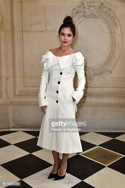 Adriana Ugarte attends the Christian Dior show of the Paris Fashion Week Womenswear Spring/Summer 2017 on September 30 2016 in Paris France