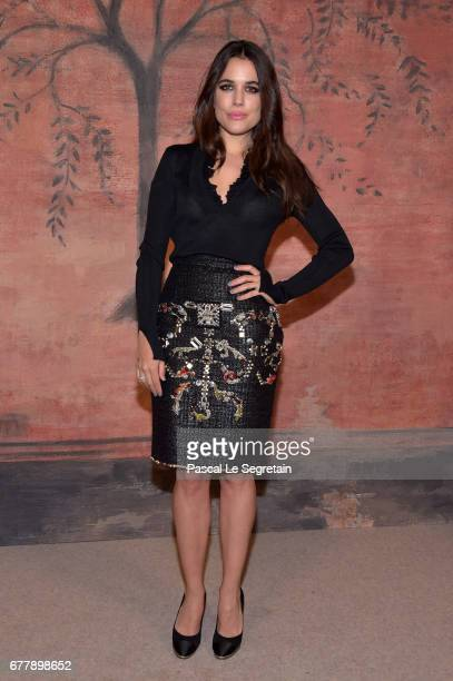 Adriana Ugarte attends the Photocall of the 'Chanel Cruise 2017/2018 Collection' at Grand Palais on May 3 2017 in Paris France