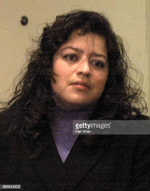 Adriana Vasco entering court just before hearing a guilty verdict for her involvment in the murders of her former lover – an anesthesiologist – and...