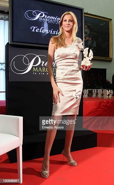 Adriana Volpe attends the 2010 Premio Margutta - La Via delle Arti at Musei Capitolini on May 26, 2010 in Rome, Italy.