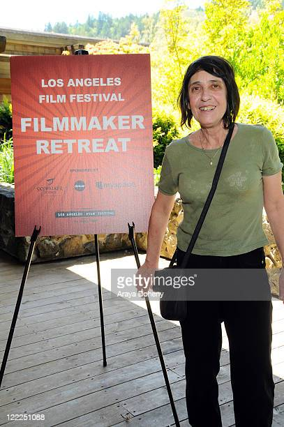 Adriana Yurcovich attends the Los Angeles Film Festival 2010 Filmmaker Retreat at Skywalker Ranch on June 16 2010 in San Francisco California
