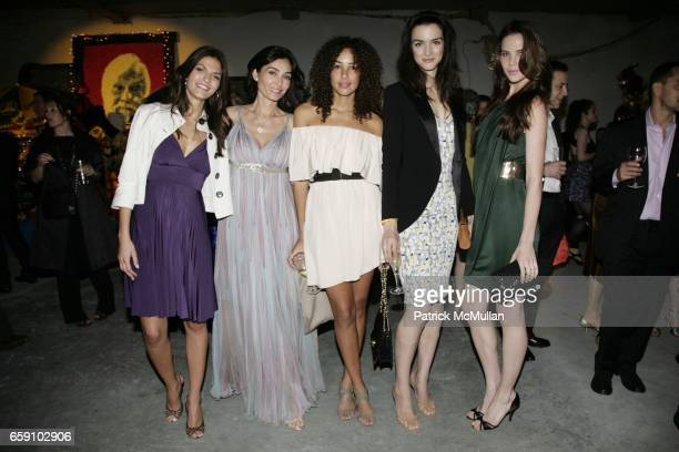 Adriane Boff Dara Tomanovich Paloma Jonas Zoya Loeb and Chrissy Haldis attend NEW MUSEUM UNGALA at 7 World Trade on April 29 2009 in New York City