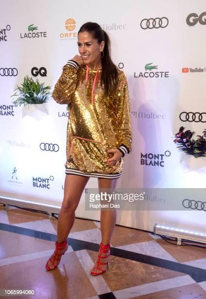 Adriane Galisteu attends the GQ Brazil Men of The Year Awards at Belmond Copacabana Palace on November 27 2018 in Rio de Janeiro Brazil