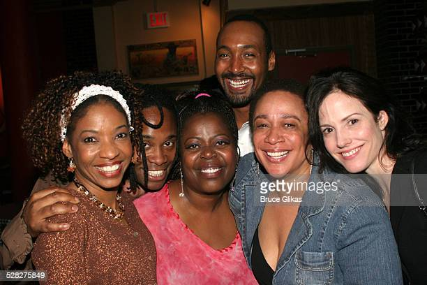 Adriane Lenox, Billy Porter, Lillias White, Jessie L. Martin, S. Epatha Merkerson and Mary-Louise Parker *Exclusive Coverage*