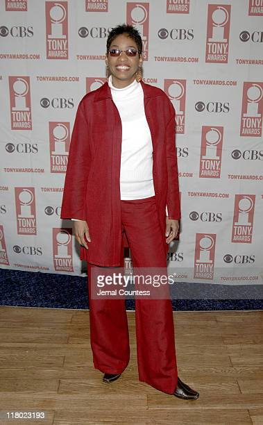 Adriane Lenox during 59th Annual Tony Awards 'Meet The Nominees' Press Reception at The View at The Marriot Marquis in New York City New York United...
