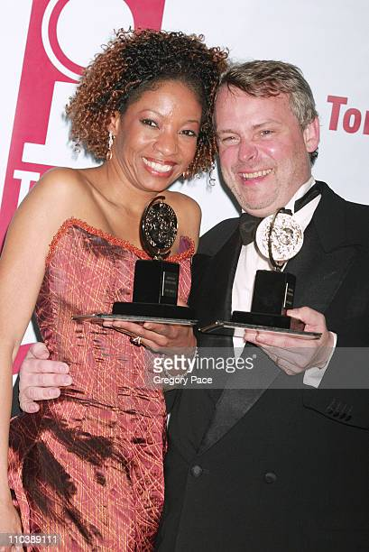 Adriane Lenox winner Best Performance by a Featured Actress in a Play for Doubt and Doug Hughes winner Best Direction of a Play for Doubt