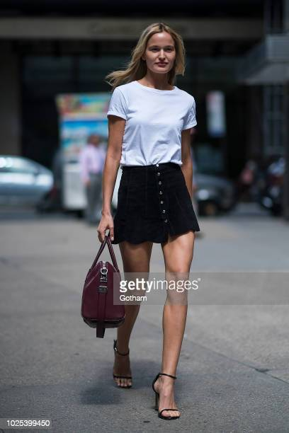 Adrianna Bach attends casting for the 2018 Victoria's Secret Fashion Show in Midtown on August 30 2018 in New York City
