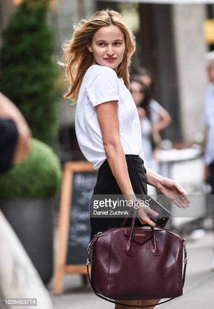 Adrianna Bach attends the casting for the 2018 Victoria's Secret Fashion Show in Midtown on August 30 2018 in New York City