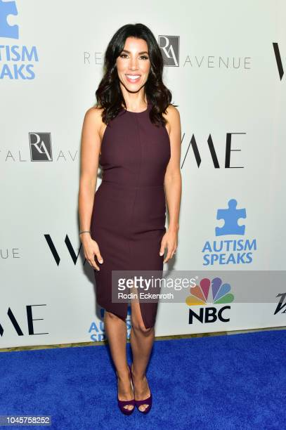 Adrianna Costa attends the 2018 Autism Speaks 'Into The Blue' Gala at Beverly Hills Hotel on October 4 2018 in Beverly Hills California