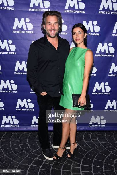 Adrianna Costa attends the March of Dimes Signatures Chefs Auction Los Angeles on October 11 2018 in Beverly Hills California