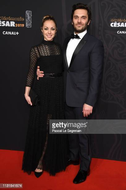 Adrianna Gradziel and Pio Marmai attend Cesar Film Awards 2019 at Salle Pleyel on February 22 2019 in Paris France