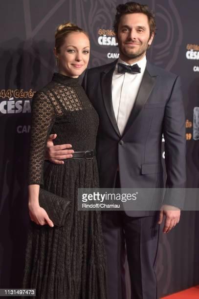Adrianna Gradziel and Pio Marmai attend the Cesar Film Awards 2019 at Salle Pleyel on February 22 2019 in Paris France