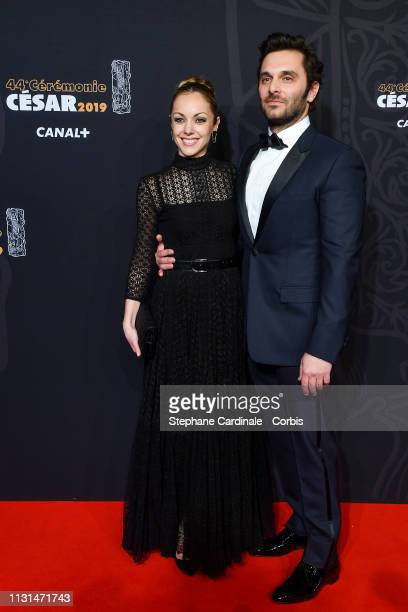 Adrianna Gradziel and Pio Marmai attend the Cesar Film Awards 2019 the Cesar Film Awards 2019 at Salle Pleyel on February 22 2019 in Paris France