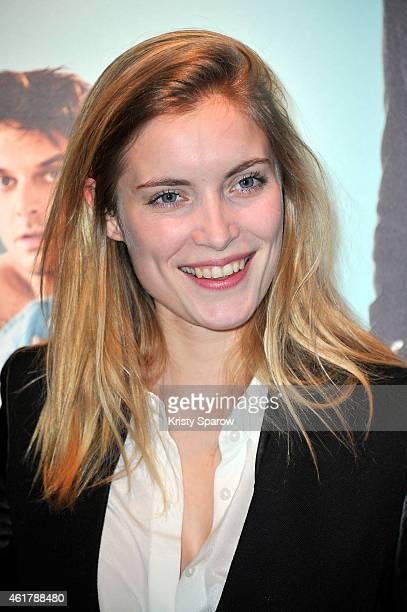Adrianna Gradziel attends the 'Toute Premiere Fois' Paris Premiere at UGC Cine Cite Bercy on January 19 2015 in Paris France