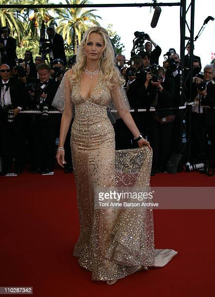 Adrianna Karembeu during 2006 Cannes Film Festival 'Marie Antoinette' Premiere at Palais des Festival in Cannes France