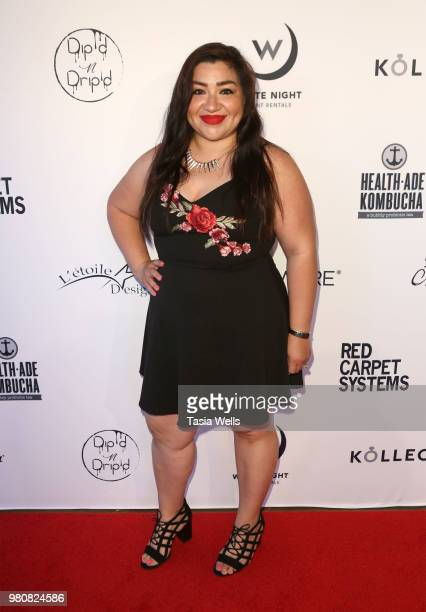 Adrianna Veliz attends Kollectin Fashion Jewelry popup night on June 21 2018 in Los Angeles California