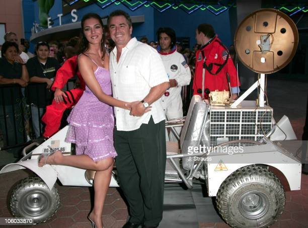 Adrianne Curry and Chrisopher Knight during Light Years Away Los Angeles Screening Arrivals at Universal City Walk Cinemas in Universal City...