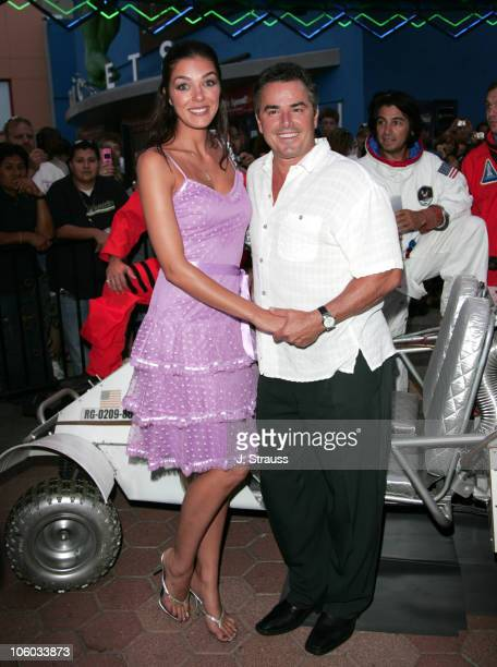 Adrianne Curry and Chrisopher Knight during 'Light Years Away' Los Angeles Screening Arrivals at Universal City Walk Cinemas in Universal City...