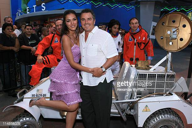 Adrianne Curry and Christopher Knight during Premiere Screening of Light Years Away at Universal City Walk in Universal City California United States