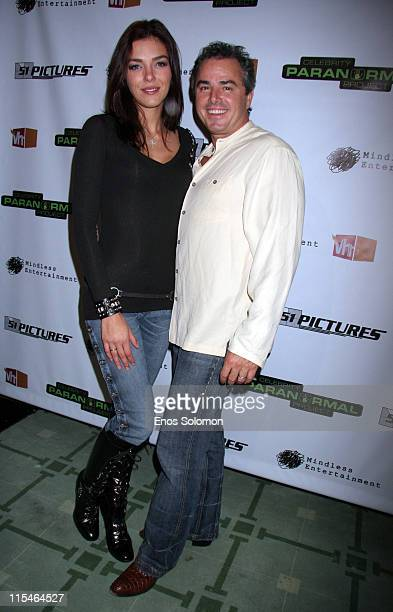 Adrianne Curry and Christopher Knight during Screening and Launch Party for VH1's New Series ''Celebrity Paranormal Project'' at Social Hollywood in...